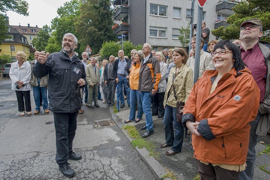 """Der Blaue Tisch im Drerup-Viertel – Auftaktveranstaltung zur Reihe """"Der Blaue Tisch"""""""