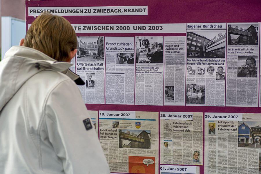 Der Blaue Tisch am 21.10.2011 in Hagen-Westerbauer – Thema: Die Brandt-Brache
