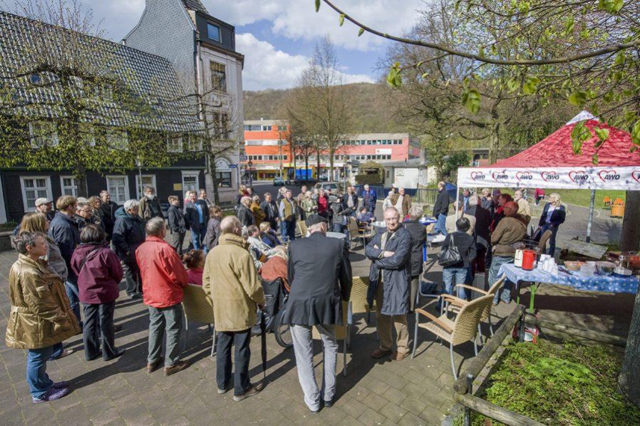 Der Blaue Tisch in Hagen-Eilpe am 20.04.2012