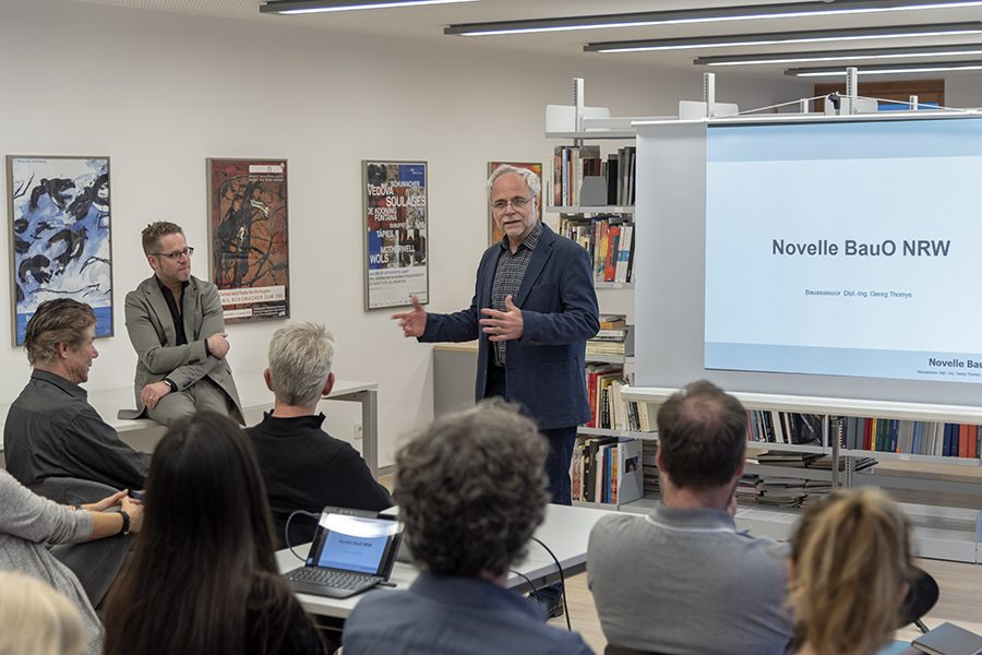 Die Novelle der Bauordnung NRW