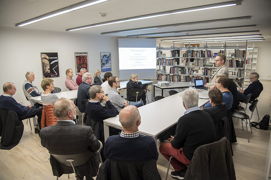 Vortrag von Dipl.-Ing. Johann Dieckmann: Die Stadtplanung in der Kommunalpolitik