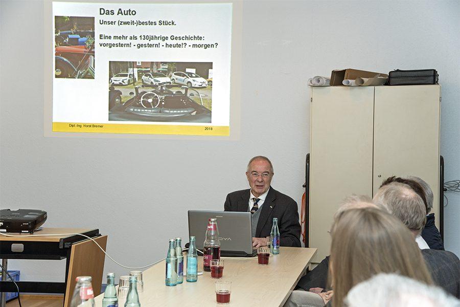 Die Geschichte des Automobils – Ein Vortrag von Dipl.-Ing. Horst Bremer