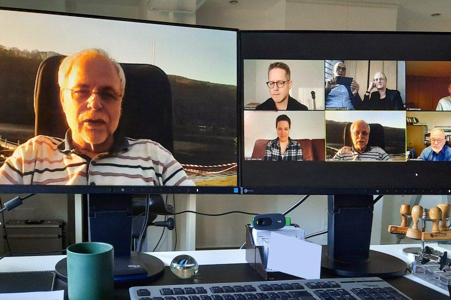 Virtuelle Vorstandssitzung am 30.03.2021